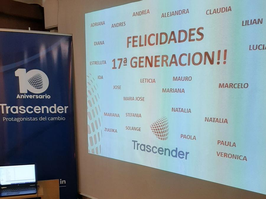 Nueva generación de Coaches Egresados de Trascender 17ª Generación