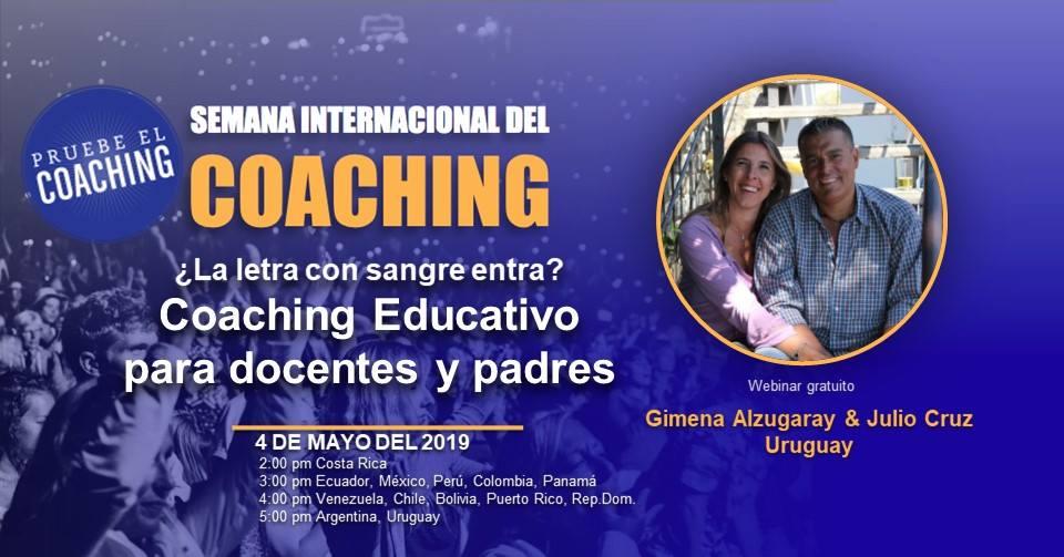 Semana Internacional del Coaching del 29 abril al 5 de mayo