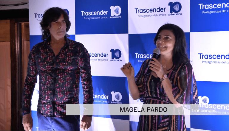 Discursos de los directores de Trascender en evento 10° Aniversario.