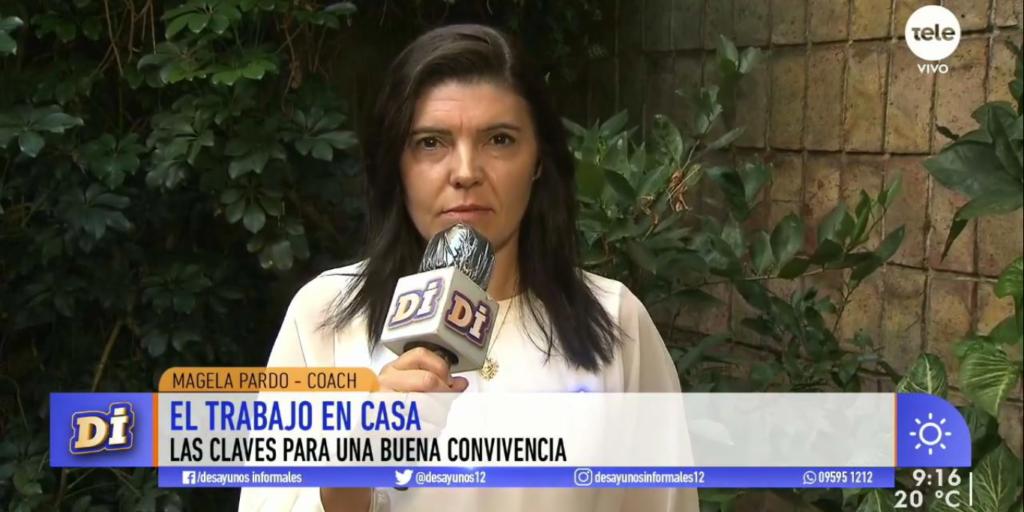 Directora Magela Pardo en Desayunos informales
