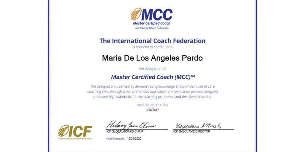 Ser Master Coach…