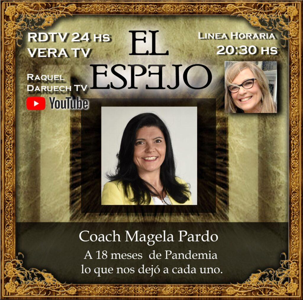 Prensa: Magela Pardo en Raquel Daruech TV – Vera TV
