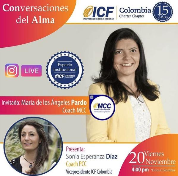 Prensa: Entrevista ICF Colombia – Conversaciones del Alma